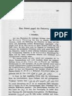 Goldziher Eine Fetwa Gegen Die Futuwwa ZDMG1919