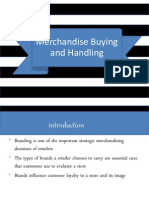 Topic 9 by DTL- Merchandise Buying and Handling