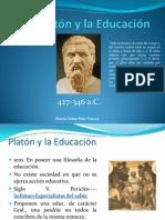 presentacion de platon y la educación