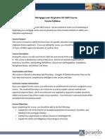 DC SAFE Mortgage Law Syllabus