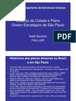 Aup266- 2012 Estatuto Da Cidade e Plano Diretor Estrategico de Sao Paulo - Aula Nabil
