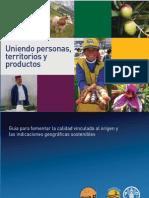 2010 - FAO Uniendo Personas Productos y Territorios