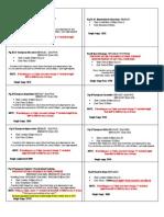 summer 12-13 cheet sheets