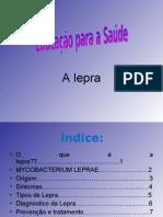 educaçao para a saude - a lepra