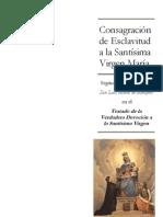 Consagración de Esclavitud a la Santísima Virgen María