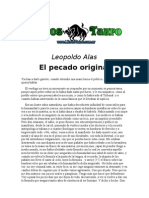 Alas, Leopoldo - El Pecado Original