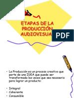 ETAPAS DE LA PRODUCCIÓN AUDIOVISUAL