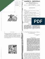AMÉRICA INDÍGENA - Debate entre Arthur Posnansky y Juan Comas (1943)