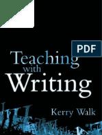 Teaching With Writing K Walk