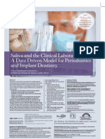 Saliva and the Clinical Laboratory_A Data Driven Model for Periodontics and Implant Dentistry
