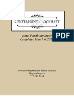 Hotel Feasibility Study - Hotel Conference 3.12