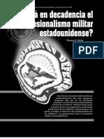 Ricks - 1999 - ¿Está en decadencia el profesionalismo militar estadounidense.pdf