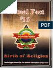 Dr York - Actual Fact 16 - Birth of Religion