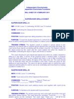 IC - Supervisor Drills