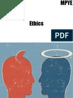 Ignou Ethics (Mpye)
