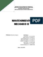 Mantenimiento Mecanico II.docx