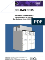 Datos Tecnicos Celdas Cb15