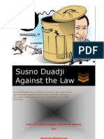 Susno Duadji Against the Law