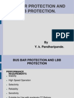 Bus Bar Protection REV 1