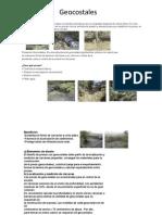 Control de la erosión en cárcavas. Presas geocostales
