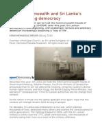 The Commonwealth and Sri Lanka's disintegrating democracy