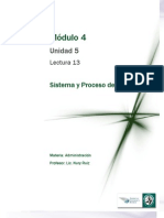 Lectura 13 - Sistema y Proceso de Control