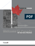 Flagship Report on Canada for Foreign Investors