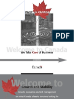 Flagship Report on Canada for Foreign Investors (Condensed)
