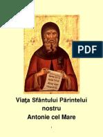 Viaţa Sfântului Antonie cel Mare1