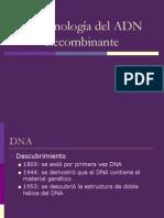 Biotecnologia Del ADN Recombinante Clase 2