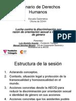 LGBT Derechos Humanos y Marco Legal Internacional
