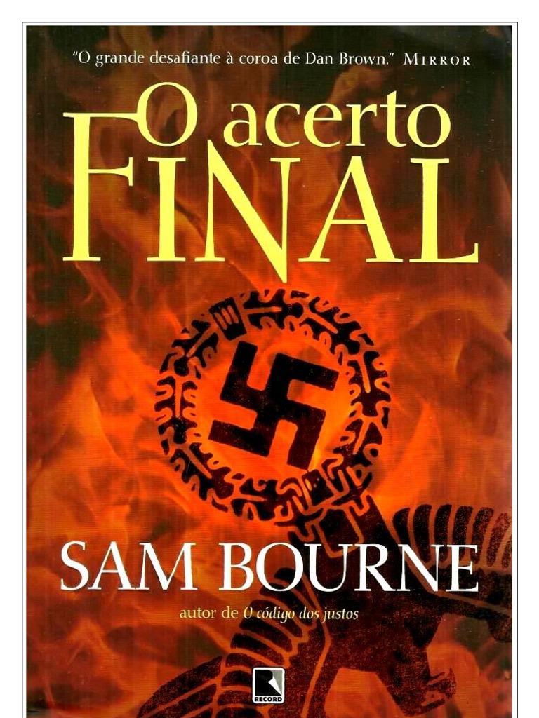 O Acerto Final - Sam Bourne 1612d74aab