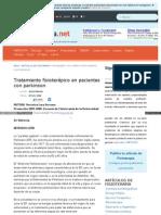 E-fisioterapia Net Articulos Tratamiento Fisioterapico Parkinson