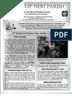 Bulletin for July 21-2013