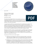 OCS governors letter - this is the version sent to Sen. Mary Landrieu