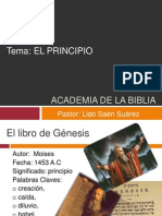 Principio Academia de La Biblia