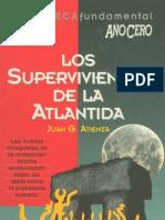Juan G Atienza Los Supervivientes de La Atlantida