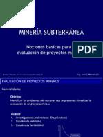 3 Nociones basicas evaluacion proyectos mineros-v2.pps
