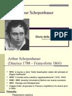 la filosofia di Arthur Schopenhauer