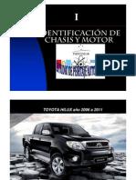8IDENTIFICCIÓN DE CHASIS Y MOTOR I