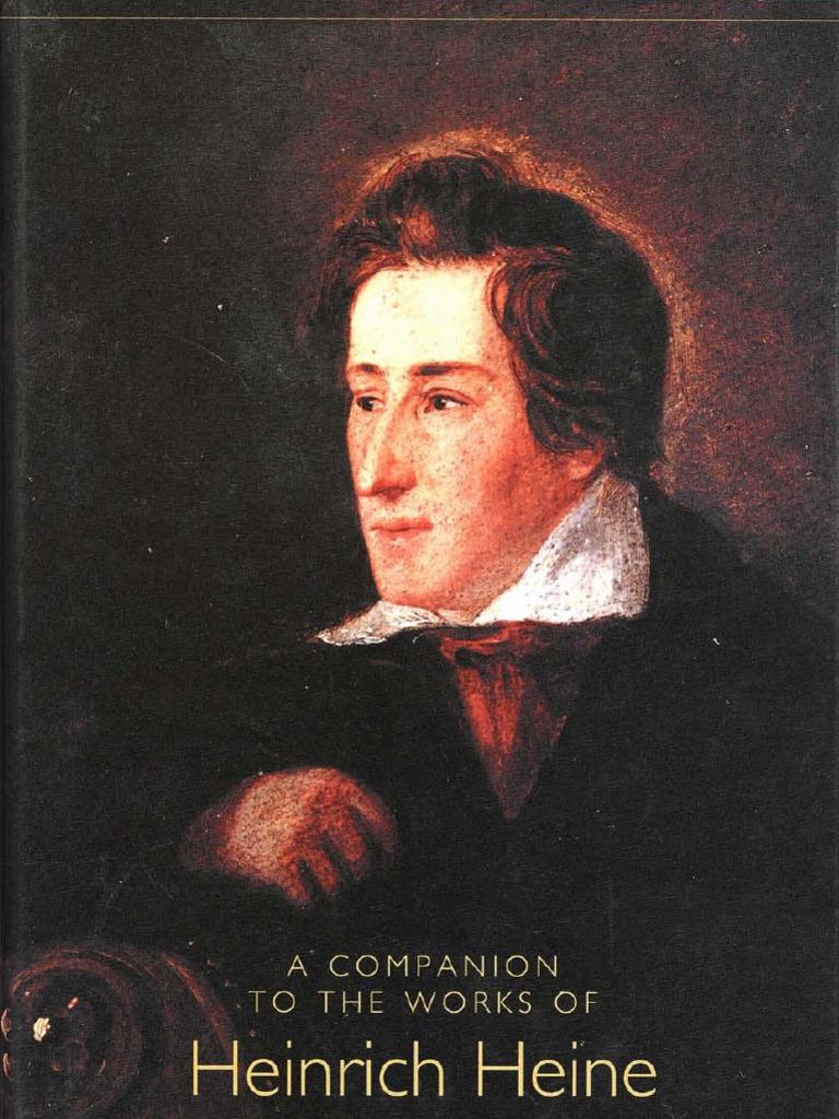 fa0136a35fd4f3 A Companion to the Works of Heinrich Heine | Georg Wilhelm Friedrich Hegel  | Romanticism