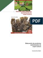 Elaboracion de Productos Deshidratados de Nopal