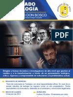 Flyer Doctorado Teología