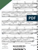 Cavatina Piano Score