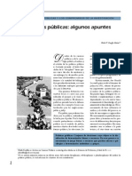 Apuntes sobre políticas públicas