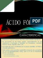 Acido Folico y Cloroquina