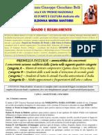 Bando e Concorso Nobildonna Maria Santoro