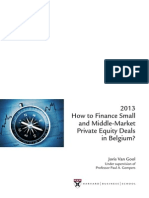 Belgium Private Equity Financing