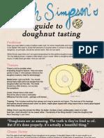 Enoch Simpson's Guide to Doughnut Tasting