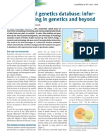The Universal Genetics Database - Information Sharing in Genetics and Beyond